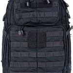 11 Tactical RUSH24 Military Backpack, Molle Bag Rucksack Pack, 37 Liter Medium, Style 58601