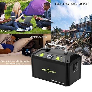 ROCKPALS 178Wh 48000mAh Portable Generator