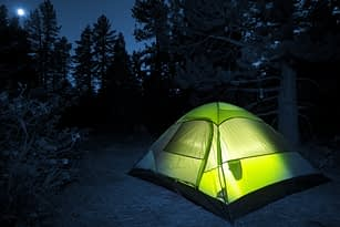 Keeping Your Tent Dry