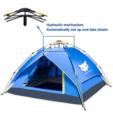 Night Cat 4 Person Instant Tent Review