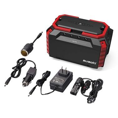SUAOKI 150W Dual 110V AC outlet Generator