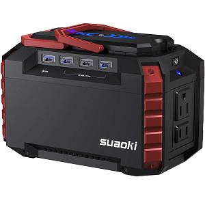 SUAOKI Portable Power Station Solar Generator Review